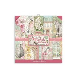 Stamperia  Orchids and Cats 12 x 12 inch paper pack