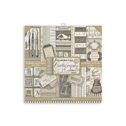 Stamperia Calligraphy 12 x 12 inch paper pack