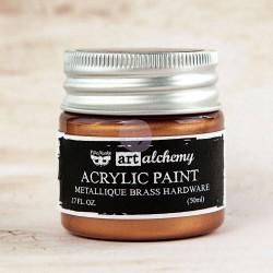 Finnabair  acryl paint Brass Hardware