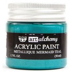 Finnabair  acryl paint Mermaid Teal