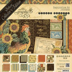 Graphic 45 deluxe collectors edition French country collectie