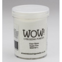 WoW glear gloss super fine grote pot