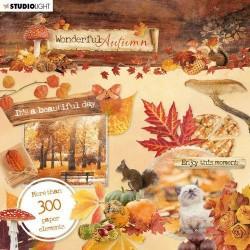 Studio Light wonderful Autumn paper elements