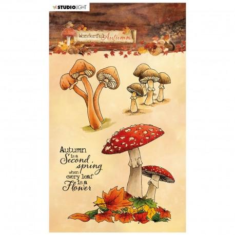 Studio Light wonderful Autumn stempel paddenstoelen 480