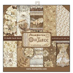 Stamperia paper pack Old Lace 30,5 x 30,5 cm
