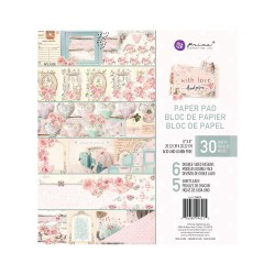 Prima Marketing With Love 8 x8 inch paper pack