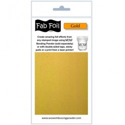 WoW Fab Foil Gold