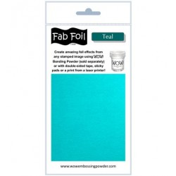 WoW Fab Foil Teal
