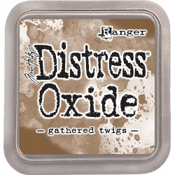 Ranger distress oxide gathered twigs