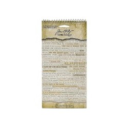 idea-ology Tim Holtz Clipping stickers book