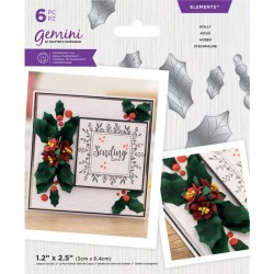 Crafters Companion Holly elements snij mal