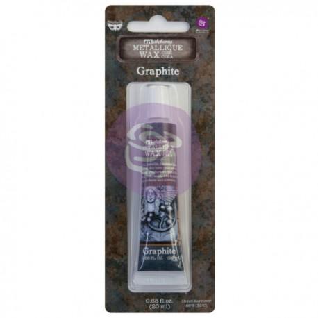Finnabair metallic wax Graphite